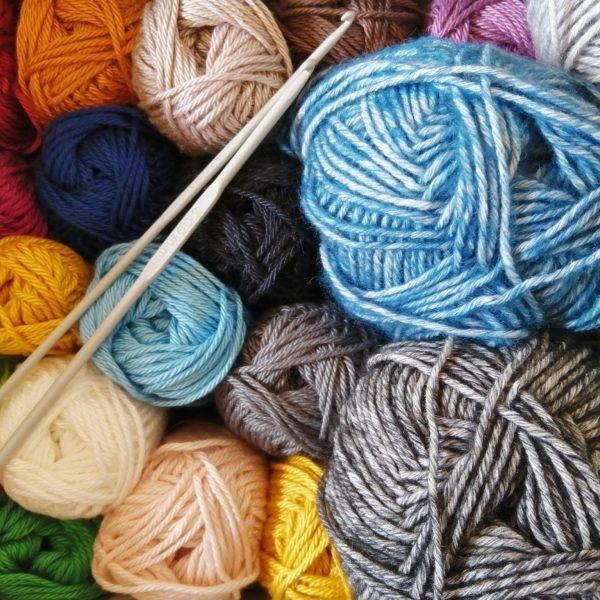 Wolfaby knitting